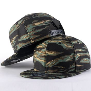Camo Hip-hop Baseball Cap Hat