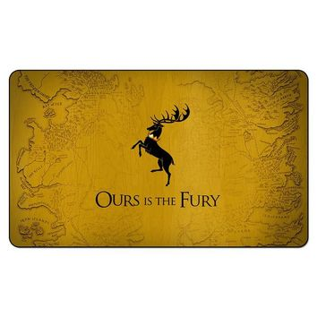 Family Friends party Board game Game of Thrones Daenerys Targaryen Gragon mother Playmat Magic Playmat A Song of ice and fire for  Table Mat AT_41_3