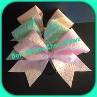 Sweet Lace Cheer Bow