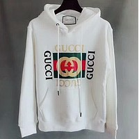 ''GUCCI'' Women Fashion Letter Print Top Pullover Hoodie