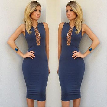 New Fashion Summer Sexy Women Mini Dress Casual Dress for Party and Date = 4725237764