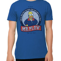 The Simpsons Mr. Plow T-Shirt