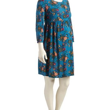 Old Navy Maternity Floral Print Swing Dress