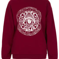 **Classic Sweater by Illustrated People - Brands at Topshop - New In This Week - Topshop