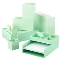Mint Poppin Pencil Cup