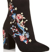 ATHENS Embroidered Boots - Boots - Shoes