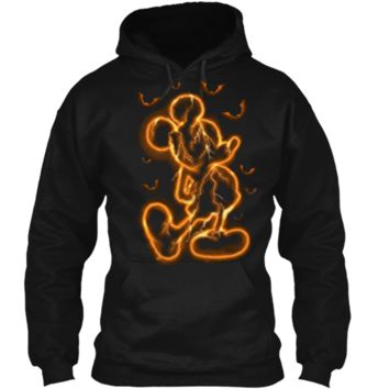 Disney Halloween Mickey Mouse Pullover Hoodie 8 oz