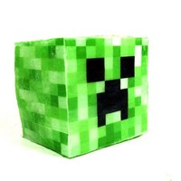 Creeper Minecraft Inspired Soap Cube
