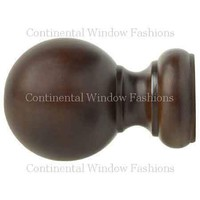 Kirsch Wood Ball Finial