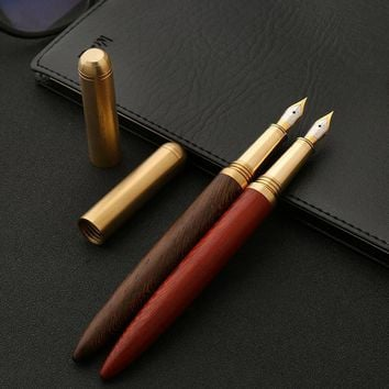 Wood Iraurita Fountain Pen High Quality ink pen 0.7mm nib Caneta Stationery Office supplies 03839