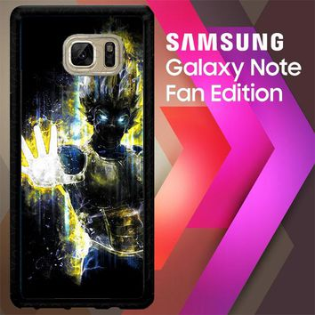Dragon Ball Z Vegeta Bad Man Saiyan Prince L1405 Samsung Galaxy Note FE Fan Edition Case