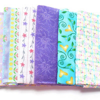 Pastels, Fat Quarter Bundle, Assorted