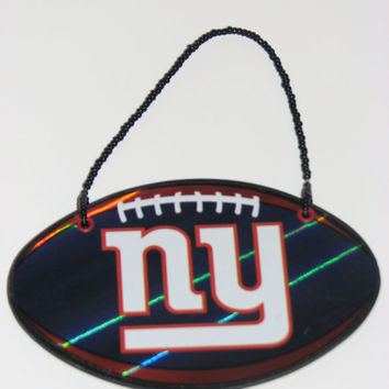 NFL New York Giants Door Knob Hanger - Boys Room Decor - Christmas Ornament