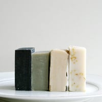 Travel Soap - 4 Natural Soap Bars - Handmade Soap, Essential Oil Soap