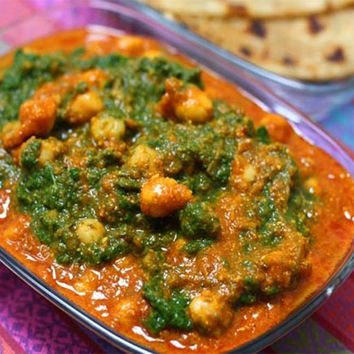 Recipes - Chickpea Tikka Masala with Spinach