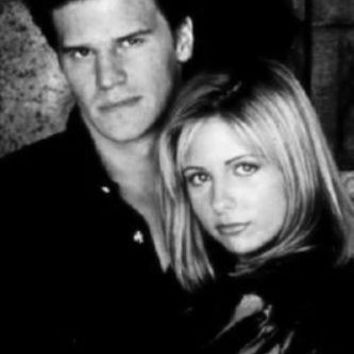 Buffy The Vampire Slayer Movie poster Metal Sign Wall Art 8in x 12in Black and White