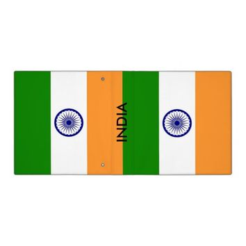 Binder with Flag of India