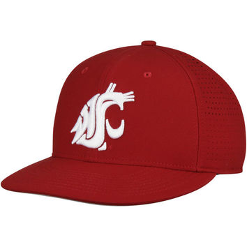 Men's Nike Crimson Washington State Cougars True Vapor Performance Fitted Hat