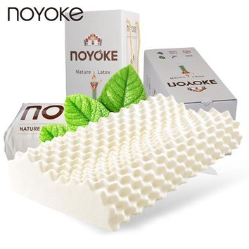 NOYOKE 100% Original Thailand Imported Natural Latex Pillow New Year Christmas Gift Massage Natural Latex Pillow (With Gift Box)