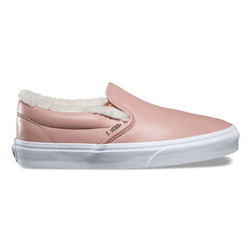 Leather Classic Slip-On | Vans | Official Store