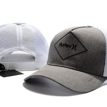 HURLEY embroidery Strap Cap Adjustable Golf Snapback Baseball Hat