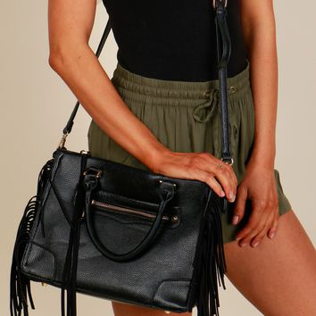 Wild Side Purse Black