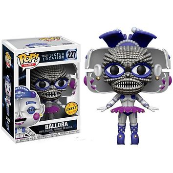 Five Nights at Freddy's Sister Location Ballora Chase Pop! Vinyl Figure #227