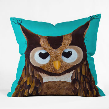 Mandy Hazell Owl Love You Throw Pillow