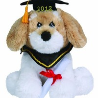 Precious Moments Dated 2012 Large 9-Inch Graduation Dog Plush