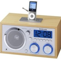 Craig Electronics CMA3036 Retro iPod Alarm Clock Radio
