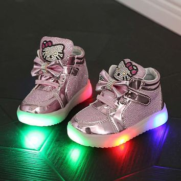 light up shoes for children glowing sneakers kids boy girls with chaussure lumineuse led shoes enfant pour fille slippers marque
