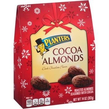 Planters Dark Chocolate Flavor Cocoa Almonds, 14 oz - Walmart.com