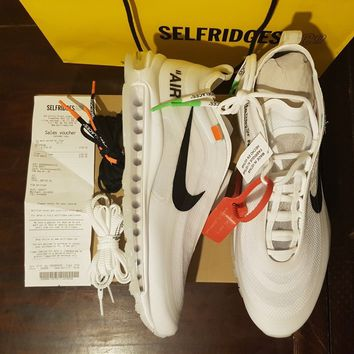 "Off-white x Nike air max 97 ""THE TEN"" UK 11"