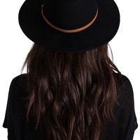 RVCA No Promises Fedora in Black from REVOLVEclothing.com