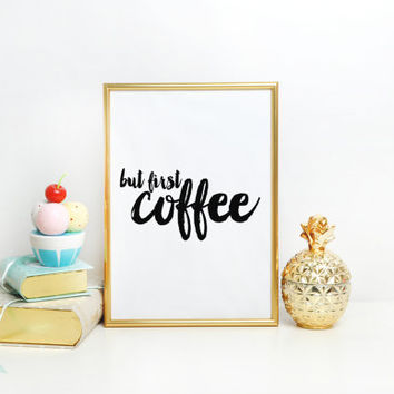 "Office Quote Art ""Can't Function Need Coffee""Printable Quote Motivational Quote Inspirational Print Office Decor Funny Wall Art Quote Coffee"