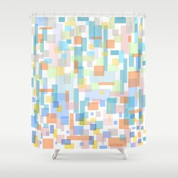 zappwaits-watercolor Shower Curtain by netzauge