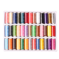 39-colors 402 Sewing Thread Yarn Strong And Durable Thread For Sewing Hand Sewing Machine Yarn knitting Accessories for Sewing