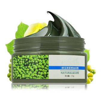 Face Mask Skin Care Face Mask Mung Bean Seaweed Face Mask For Shrink Pore Acne Treatment Oil-control Black Head