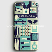 Supernatural Cartoon iPhone 7 Plus Case | casefantasy