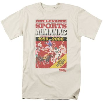 Back To The Future Ii - Sports Almanac Short Sleeve Adult 18/1