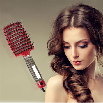 High Quality Hair Scalp Massage Comb Hairdressing Styling Tools For Take Care Hair Suitable For Variety Hair Style