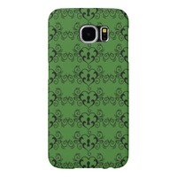 Abstract Vintage Heart Pattern Samsung Galaxy S6 Cases