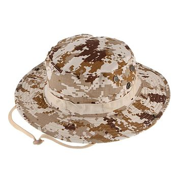 Military Camouflage Hat Breathable Shade