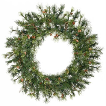 "Artificial Christmas Wreath - 30 ""  - Country Pine"