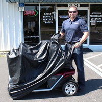Challenger Mobility Cover CMC-300 - Challenger Cover Scooter Covers | TopMobility.com