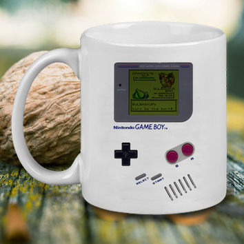 Gameboy Pokemon Battle Mug, Tea Mug, Coffee Mug