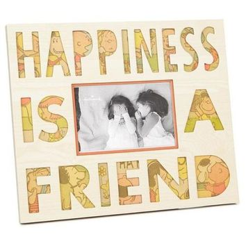 Peanuts Happiness Is a Friend Picture Frame 6x4