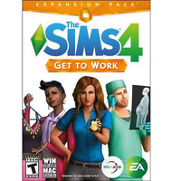 The Sims 4 Get to Work Expansion Pack PC Video Game