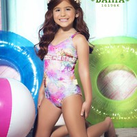 Mar de Rosas - Mar de Bahia | Luxury Children's Swimsuit