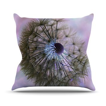"Alison Coxon ""Dandelion Clock"" Throw Pillow"